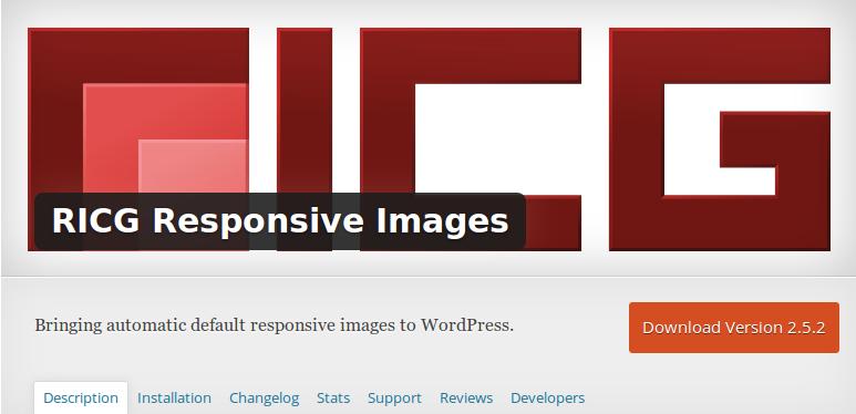 srcset on WordPress