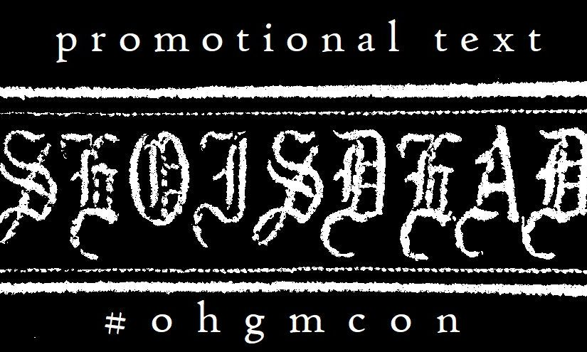 ohgmcon3 Postmortem
