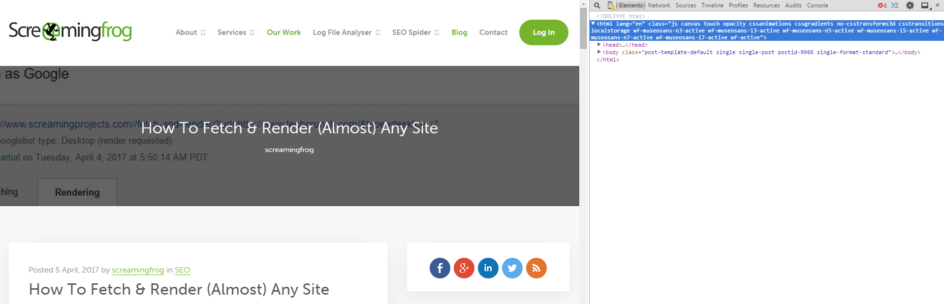 Inspect URLs for Search Console Accounts You Don't Have Access To | ohgm