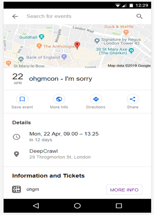 ohgmcon I'm Sorry event listing