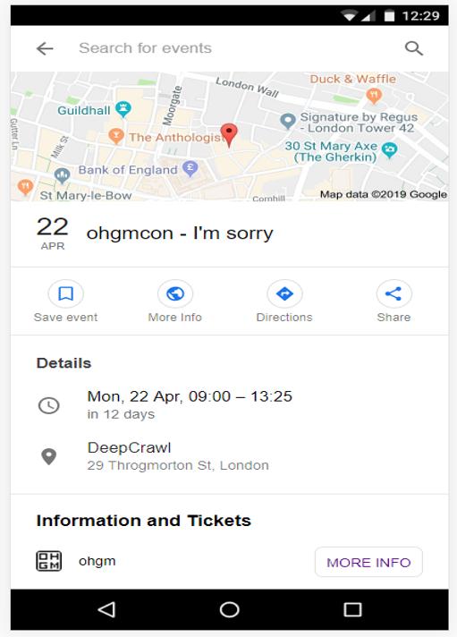 ohgmcon I'm Sorry event listing