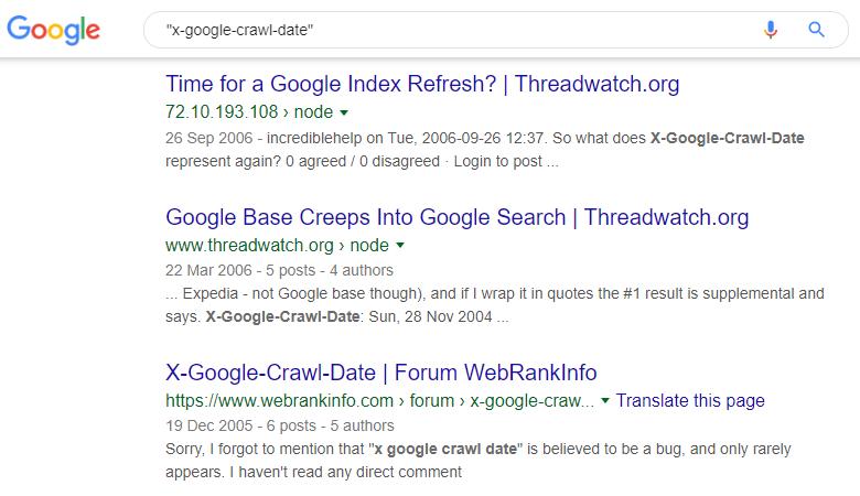 X-Google-Crawl-Date 8